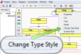 Change Element Type Style