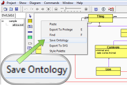 Export an Ontology to an .owl file